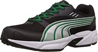 Puma Men's Pluto DP Black-Amazon-Silver Running Shoes - 8 UK/India (42 EU)