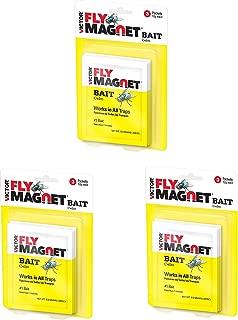 Safer Brand Victor M383 Fly Magnet Bait, 3 Pack, 9 Packets