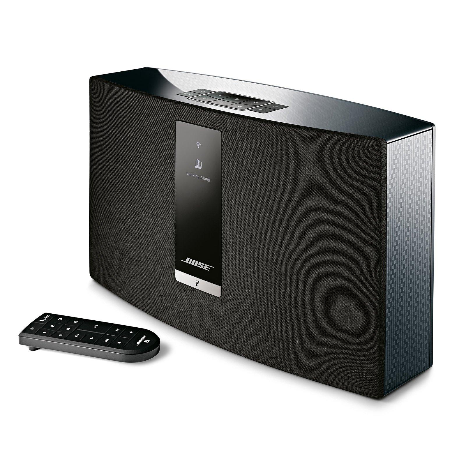보스 사운드터치 20 블루투스 스피커 위드 알렉사 - 블랙 Bose SoundTouch 20 wireless speaker, works with Alexa, Black