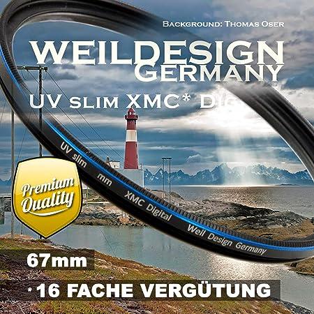 Filter Uv Slim 67mm Xmc Digital Weil Design Germany Kamera