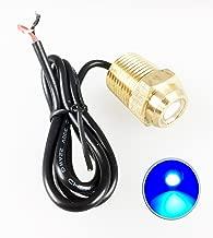 Pactrade Marine Boat 2 Blue LED Drain Plug 1/2
