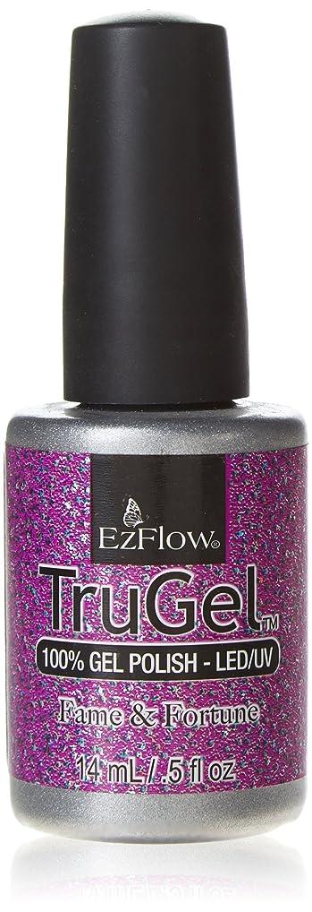 バラエティ同様に呼吸するEzFlow TruGel Gel Polish - Fame & Fortune - 0.5oz / 14ml