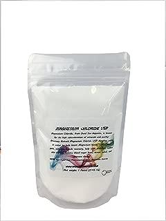 Magnesium Chloride USP (Pharmaceutical Grade) 100% Edible Cloruro de Magnesio 100% Comestible