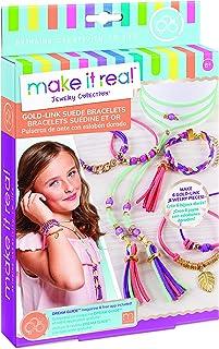 Gold Link Suede Bracelets