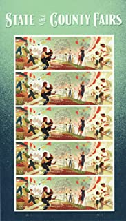 State and County Fairs Pane of 20 Forever Postage Stamps Scott 5404a
