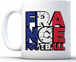 Pekatees France Soccer Mug France Mug Football France Soccer Fans Coffee Gifts White 11 oz