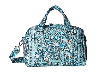 Vera Bradley Iconic 100 Handbag (Daisy Dot Paisley) Satchel Handbags