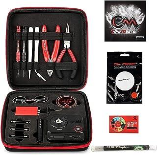 Coil Master 正規品 DIY Kit V3 電子タバコ 初心者RBA ビルド VAPE DIYツールキット 収納便利 (ステンレスワイヤー5本付)   COILMASTER DIY TOOL KIT V3 521 mini V2