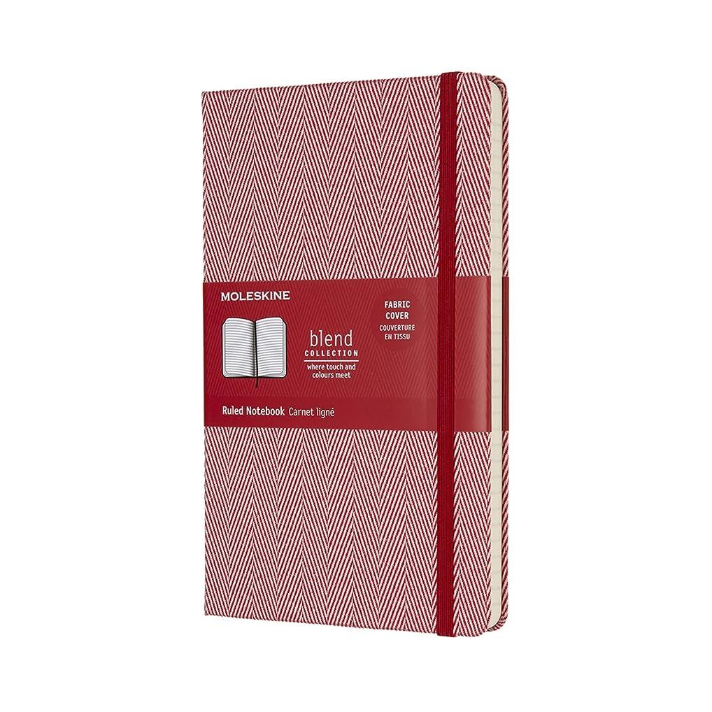 モレスキン ノート 限定版 ブレンドコレクション ハード ラージ レッド LCBD02QP060F