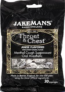 Jakemans Lozenge - Throat and Chest - Licorice - 30 Count