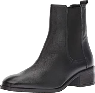 flat leather dress boots