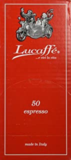 Lucaffe 50 Mr. Exclusive 100% Arabica ESE Espresso Pods