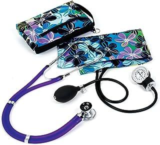 NCD Medical/Prestige Medical A2-FLP - Juego de tensiómetro de brazo y estetoscopio tipo Sprague-Rappaport