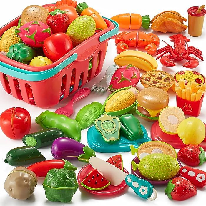 Updated 2021 – Top 10 Kids Toy Food Basket