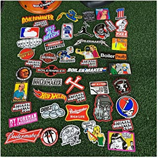 Boilermaker Pack (40) Welder Stickers Hardhat Sticker & Decals, Welding Hood- Sold by Mike's Garage Sale Today!
