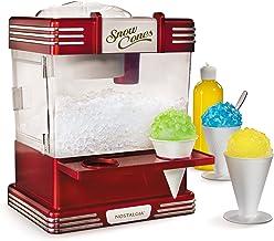 Nostalgia RSM602 Countertop Snow Cone Maker Makes 20 Icy Treats, Includes 2 Reusable..