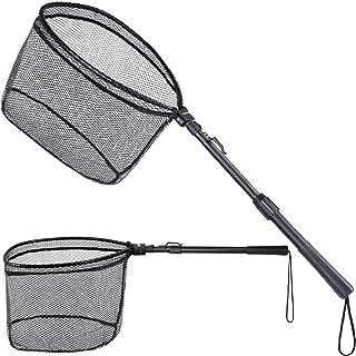 ODDSPRO Foldable Fishing Net Fish Landing Net,...