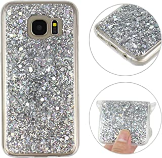 Galaxy S7 Funda Galaxy S7 G9300 Trasero Caso Cover Galaxy S7 TPU Carcasa Moon mood® Soft TPU Acrylic Cáscara Protectora...