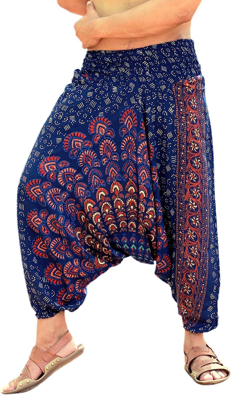 SARJANA HANDICRAFTS Mens Womens Columbus Factory outlet Mall Rayon Pant Mandala Pockets Harem
