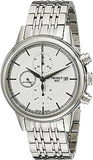 ساعة تيسو للرجال T0854271101100 كارسون انالوج بعقارب 100 اتوماتيك فضية