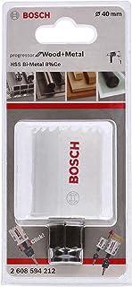 Bosch Professional hålsåg Progressor for Wood & Metal (för trä och metall, Ø 40 mm, tillbehör borrmaskin)