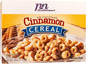 Sponsored Ad - HealthSmart High Protein Cinnamon Cereal, 15g Protein, Low Calorie, Low Sugar, Low Fat, Gluten Free, KETO D...