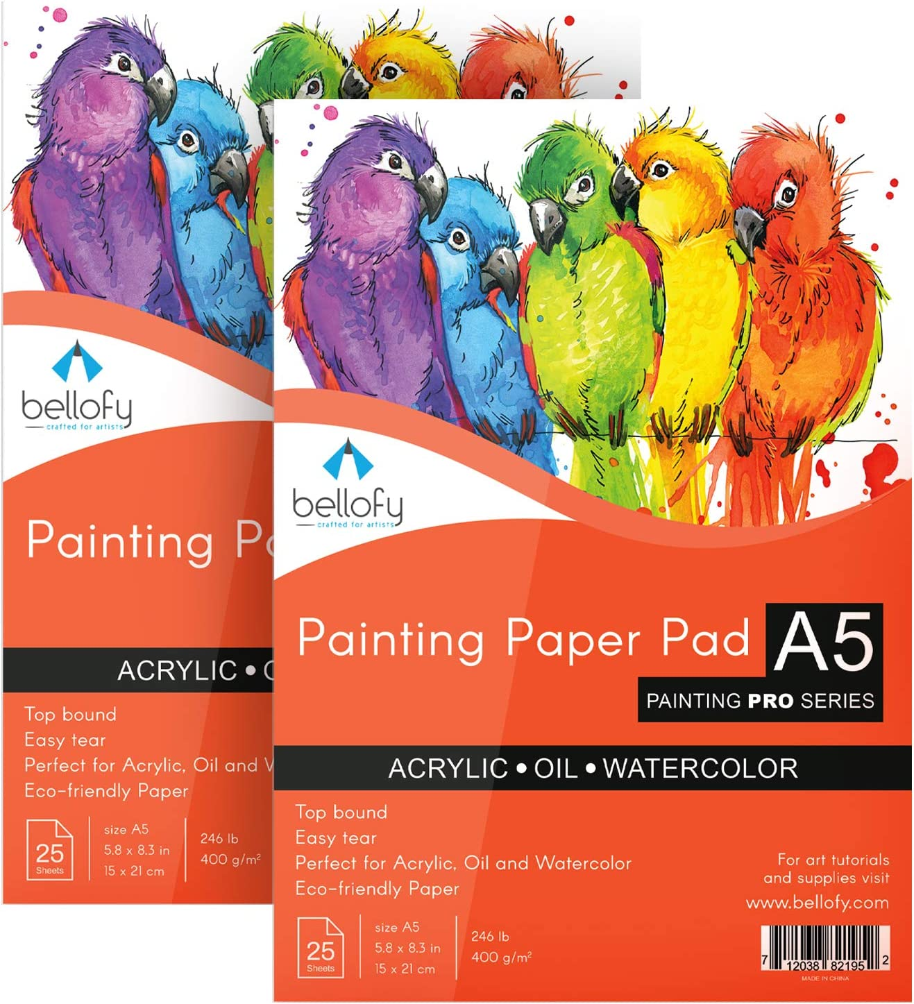 Bellofy Painting Max 84% OFF Beauty products Paper Pads - Watercolor Premium Acrylic Oil Pai