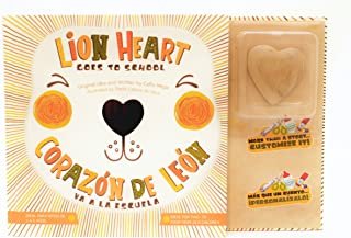 Lion Heart Goes to School Children's Book| Corazón de León va a la Escuela Libro Para Niños: Helping children with Separation Anxiety (English and Spanish Edition)