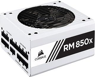 Corsair RMX White Series (2018), RM850x, 850 vatios, 80+ oro certificado, fuente de alimentación totalmente modular