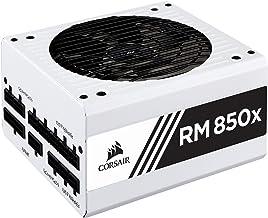 Corsair RMX White Series (2018), RM850x, 850 watts, 80+ certificado de ouro, fonte de alimentação totalmente modular - bra...