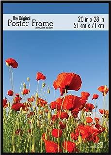 MCS 20x28 Original Poster Frame in Black with Pressboard Back and Styrene Glazing