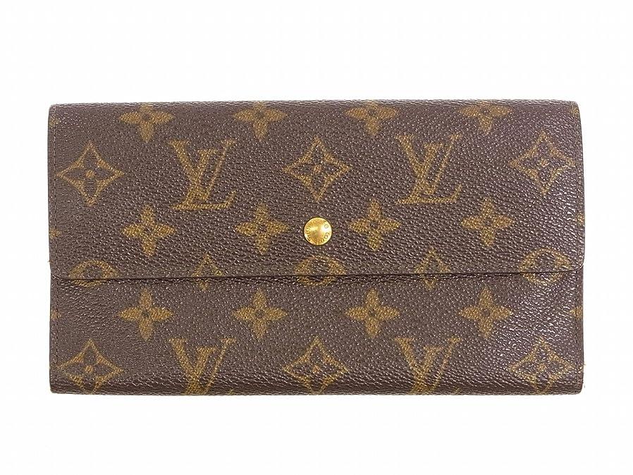 キリンまぶしさ遠洋の[ルイヴィトン] LOUIS VUITTON 三つ折り財布 モノグラム M61215 PVC×レザー X8892 中古