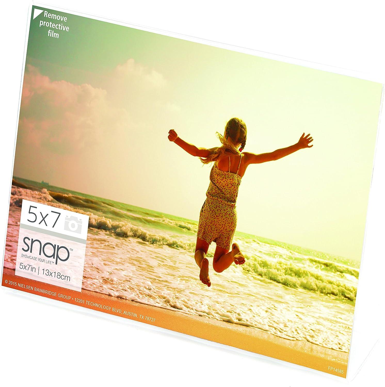 Snap Horizontal Klare L Rahmen, farblos, 7x5 B006GZY09K | Moderate Kosten