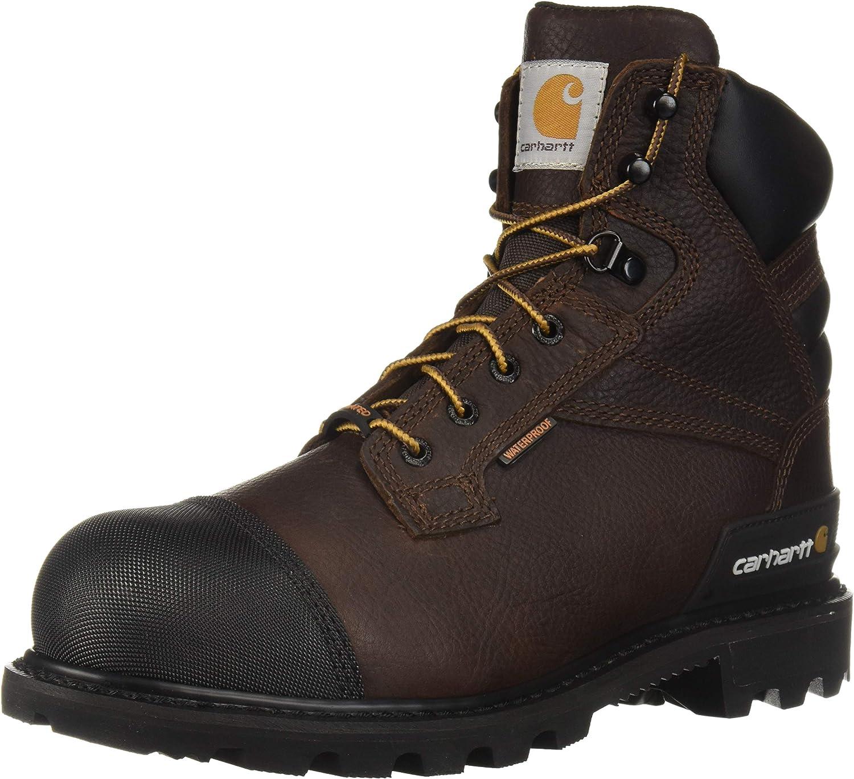Carhartt Men's CSA 6-inch Wtrprf Insulated Work Boot Steel Safety Toe Cmr6859 Industrial