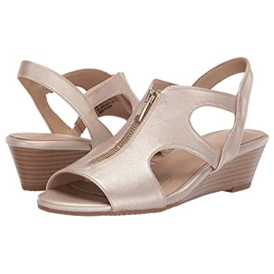 A2 by Aerosoles Happenstance (Gold Metallic Nappa) Women