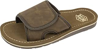 UNITED SUPPLY CO. Men's Sandal with Arch Support, Adjustable Strap with Premium and Classic Comfort, Size 8 to 13