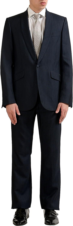 Just Cavalli Men's Wool One Button Suit US 40 IT 50