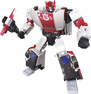 Transformers Toys Generations War for Cybertron Deluxe Wfc-S35 Red Alert Action Figure - Siege Chapter - Adults & Kids Ages 8 & Up, 5