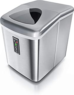 Brandson 72230494494 Machine à glaçons en acier inoxydable 150 W