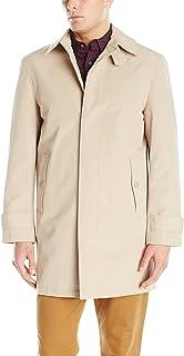 معطف رجالي من ستايسي آدمز مطبوع عليه سحابة فلاي من الأمام بطول 91.44 سم