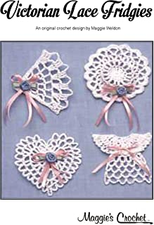 Lace fridgies crochet pattern: Create beautiful fridge magnets with this easy to follow crochet pattern