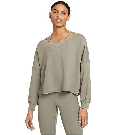 Nike NY Off Mat Fleece V-Neck Top