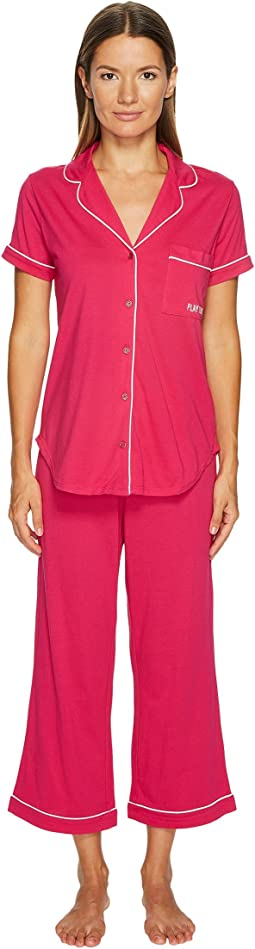 """Play Hooky"" Capris Pajama Set"