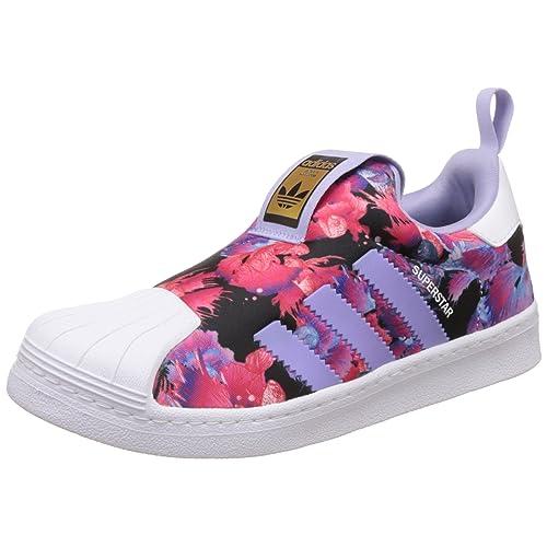 best sneakers ec1ee cfa8c adidas Originals Boy s Superstar 360 C Sneakers