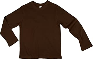 youth brown shirt