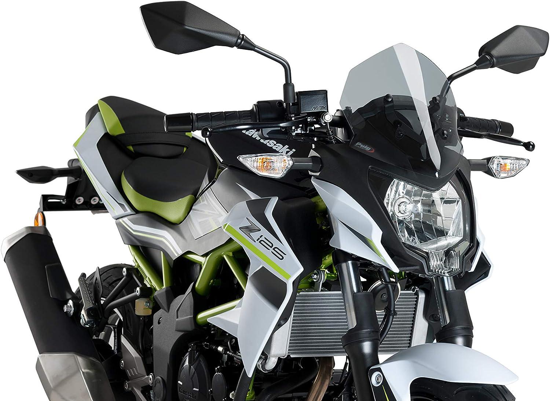 Puig Windschutzscheibe Naked New Generation Sport 3494n Für Kawasaki Z125 19 Auto