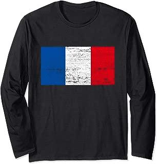 French Flag France Flag Viva La France Long Sleeve T-Shirt