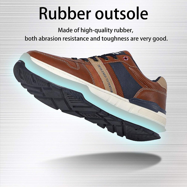 ARRIGO BELLO Freizeitschuhe Herren Sneaker Walkingschuhe Herrenschuhe Berufsschuhe Laufschuhe Atmungsaktiv Leichte Gr/ö/ße 41-46