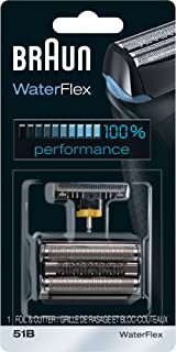 braun waterflex wet and dry replacement head