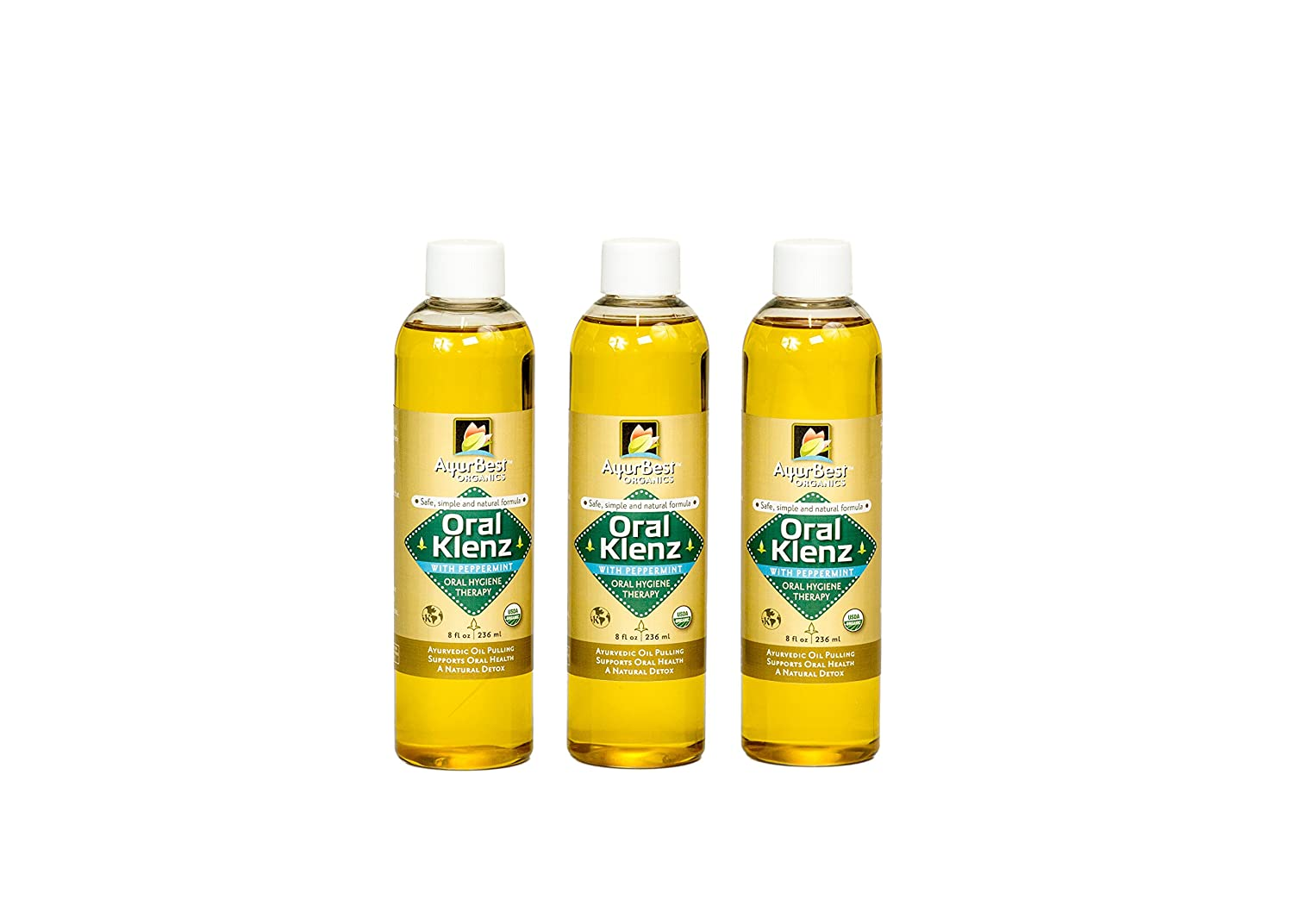Tucson Mall AyurBest Oral Klenz Peppermint Classic Oil Organ USDA Pulling Certified
